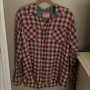 Wrangler Flannel button-down